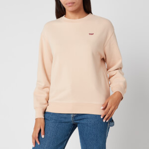 Levi's Women's Standard Crew Neck Sweatshirt - Toasted Almond