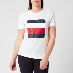 Tommy Hilfiger Women's Cathy Crew Neck T-Shirt - White