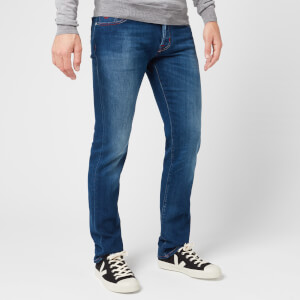 Jacob Cohen Men's Red Badge Slim Denim Jeans - Blue
