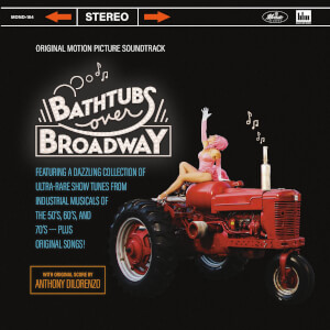 Mondo Bathtubs Over Broadway (Original Motion Picture Soundtrack) 2xLP