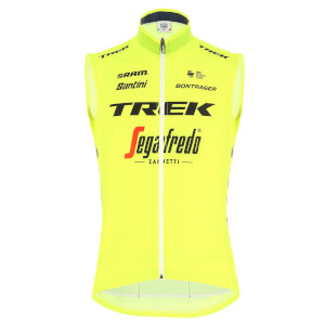 Santini Trek-Segafredo Training Fine Light Skin Vest
