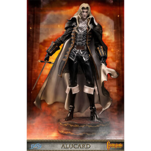 First 4 Figures Castlevania: Symphony of the Night Resin Statue - Alucard