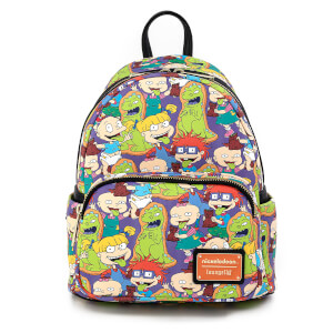Loungefly Nickelodeon Rugrats Aop Mini Backpack