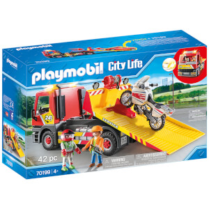 Playmobil City Life Towing Service (70199)