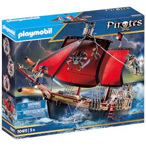 Playmobil Galeone dei Pirati (70411)