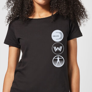 Westworld Delos Destinations Women's T-Shirt - Black