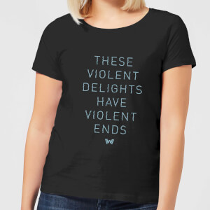 Westworld Violent Delights Women's T-Shirt - Black