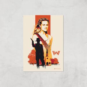 Westworld Dolores Abernathy A2 Giclee Art Print
