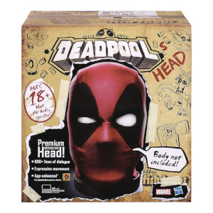 Cabeza Deadpool Interactiva Premium - Hasbro Marvel Legends