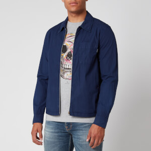 PS Paul Smith Men's Zip Overshirt - Blue