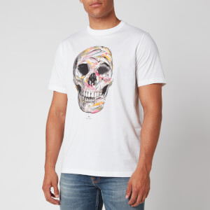 PS Paul Smith Men's Skull T-Shirt - White