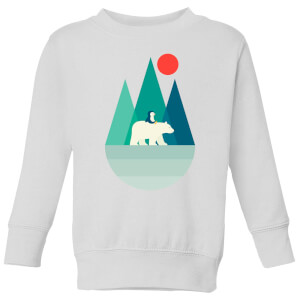 Andy Westface Bear You Kids' Sweatshirt - White