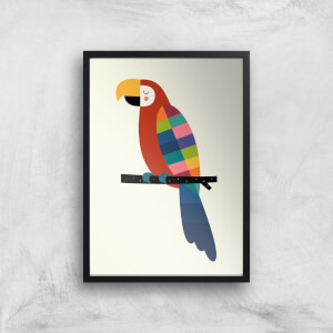 Andy Westface Rainbow Parrot Giclee Art Print