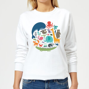 Andy Westface We Are One Women's Sweatshirt - White
