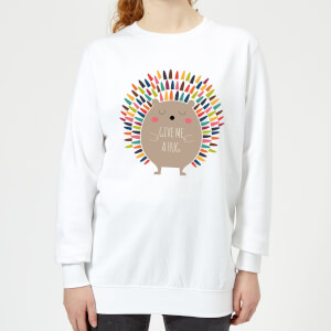 Andy Westface Give Me A Hug Women's Sweatshirt - White
