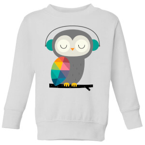 Andy Westface Owl Time Kids' Sweatshirt - White