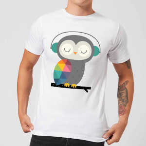 Andy Westface Owl Time Men's T-Shirt - White