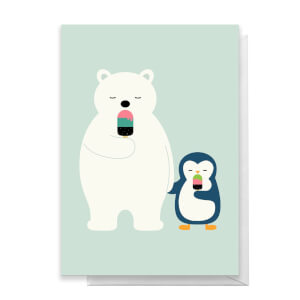 Andy Westface Stay Cool Greetings Card