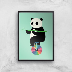 Andy Westface Balanced Bear Giclee Art Print