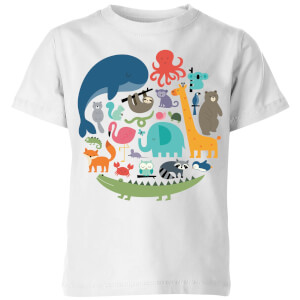 Andy Westface We Are One Kids' T-Shirt - White