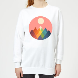 Andy Westface Rainbow Peak Women's Sweatshirt - White