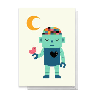 Andy Westface Robot Dreams Greetings Card