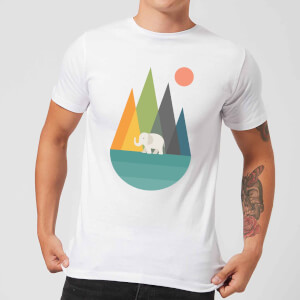 Andy Westface Walk In Peace Men's T-Shirt - White