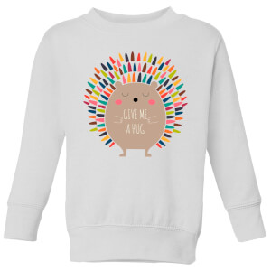 Andy Westface Give Me A Hug Kids' Sweatshirt - White