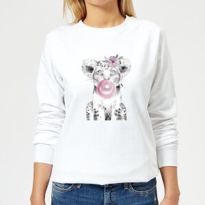 Bubblegum Cub Women's Sweatshirt - White