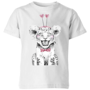 Hearty Cub Kids' T-Shirt - White