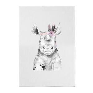 Indie Rhino Cotton Tea Towel