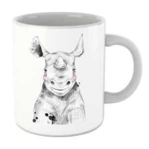 Blushed Rhino Mug