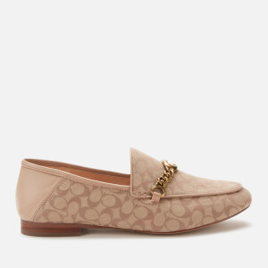 Coach Women's Helena C Chain Signature Loafers - Stone