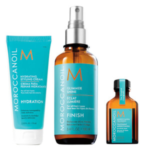 Moroccanoil Luminous Styling Set
