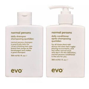 evo Normal Persons Daily Shampoo and Conditioner