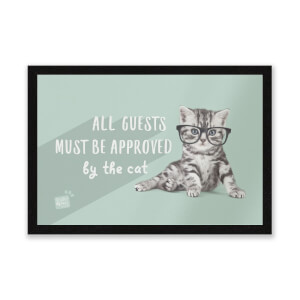Studio Pets All Guests Must Be Approved By The Cat Entrance Mat