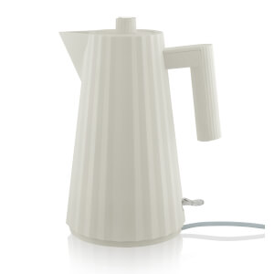 Alessi Electric Kettle - Plisse White - 1.7L