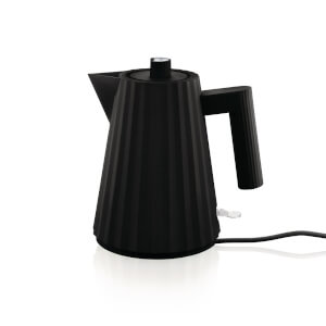 Alessi Electric Kettle - Plisse Black - 1L