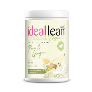 IdealFit Clear Vegan Isolate - Pear Ginger - 20 Servings