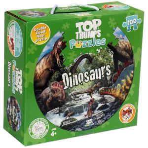 100 Piece Jigsaw Puzzle - Top Trumps Dinosaur Edition