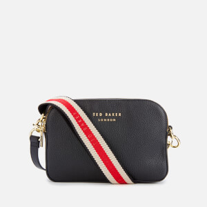 Ted Baker Women's Amerrah Branded Webbing Strap Camera Bag - Black