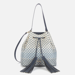 Ted Baker Women's Bevley Drawstring Bucket Bag - Navy