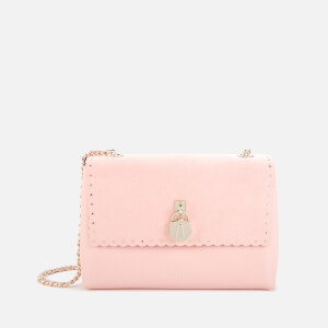 Ted Baker Women's Margiat Scallop Padlock Cross Body Bag - Nude Pink