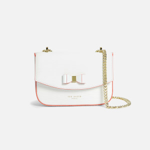 Ted Baker Women's Daissy Bow Mini Cross Body Bag - Ivory