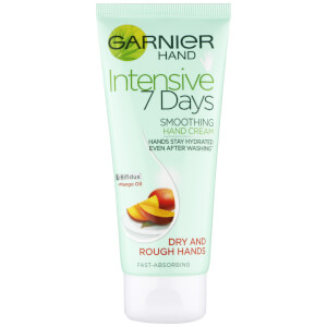 Garnier Intensive 7 Days Mango Hand Cream for Dry/Sensitive Skin 100ml