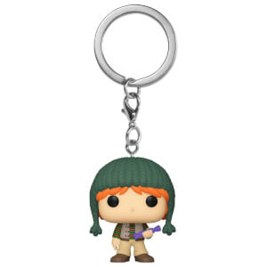 Harry Potter Holiday Ron Weasley Funko Pop! Keychain
