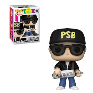 Pop! Rocks Pet Shop Boys Chris Lowe Funko Pop! Vinyl
