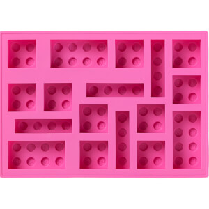 LEGO Ice Cube Tray - Pink