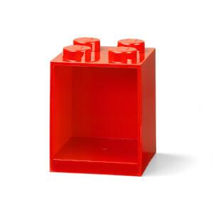 LEGO Storage Brick Shelf 4 - Red