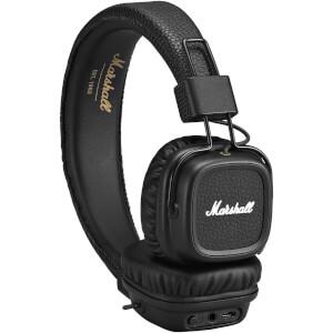 Marshall Major 2 Bluetooth Black On-Ear Headphones